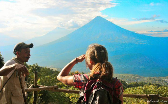 Visita el volcán Pacaya