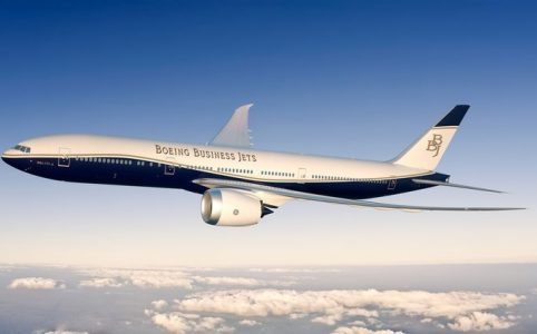 avión boeing 777 BBJ
