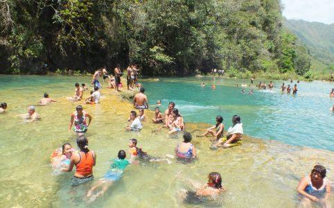 Mi día favorito en Semuc Champey, Guatemala.