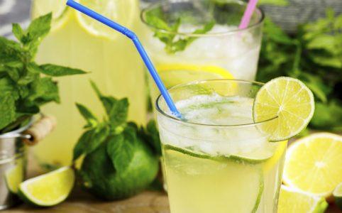 Limonada con soda