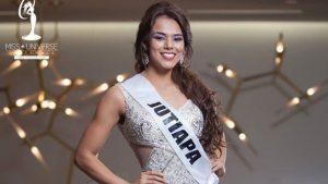 Candidata para Miss universo