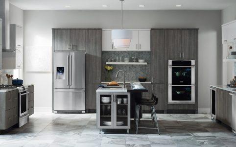 Refrigerador en cocina