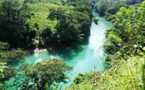 Vista del Rio Cahabon