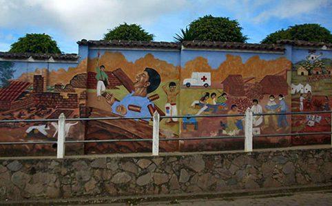 San Juan Comalapa y el arte en la sangre
