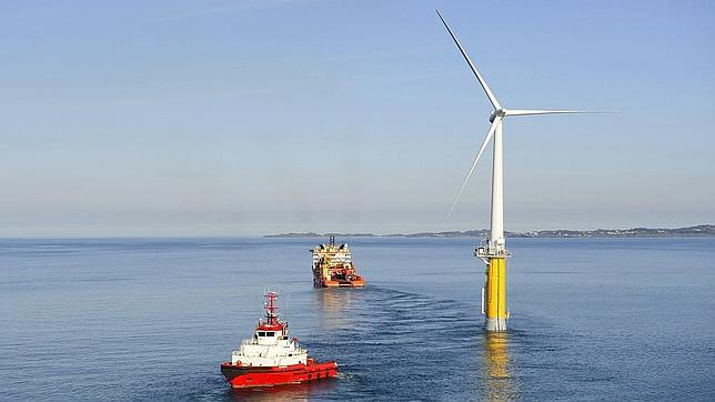 na fuente de energía renovable